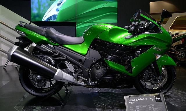 Top 10 motos mais rápidas do mundo - Kawasaki Ninja ZX-14R