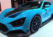 Top 10 carros mais caros do mundo - Zenvo TS1 GT