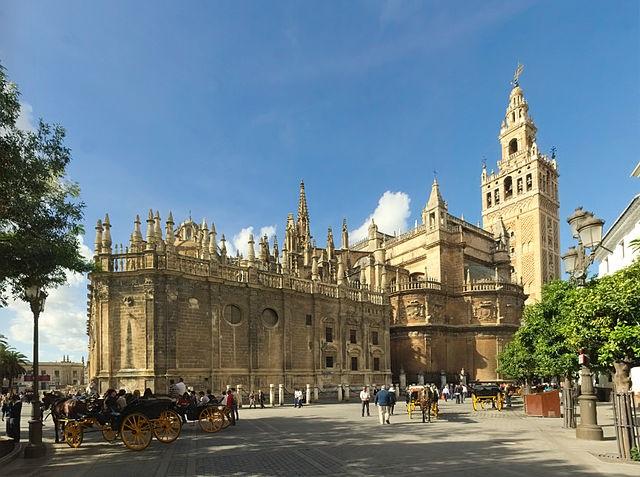 Top 10 maiores templos cristãos do mundo - Catedral de Sevilha