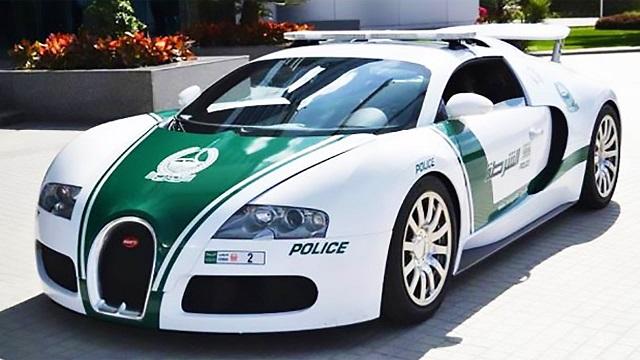 Top 10 carros de polícia mais caros do mundo - Bugatti Veyron