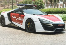 Top 10 carros de polícia mais caros do mundo