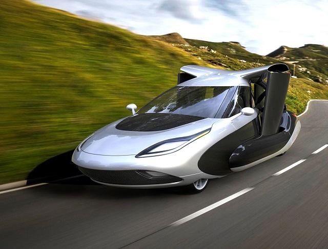 Top 10 veículos mais incríveis do mundo - Terrafugia TF-X