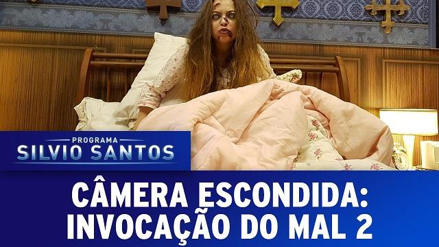 Top 10 pegadinhas mais assustadoras do Silvio Santos - Invocação do Mal 2