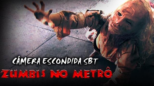 Top 10 pegadinhas mais assustadoras do Silvio Santos - Zumbis no Metrô