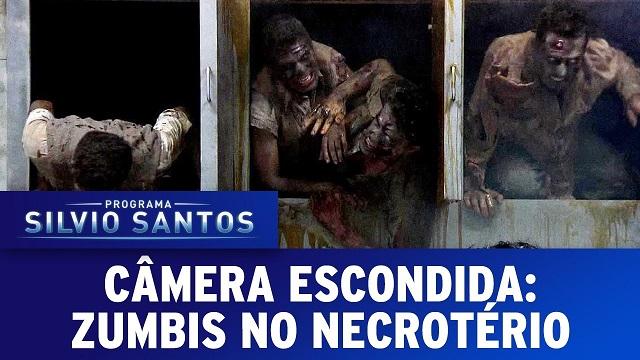 Top 10 pegadinhas mais assustadoras do Silvio Santos - Zumbis no Necrotério