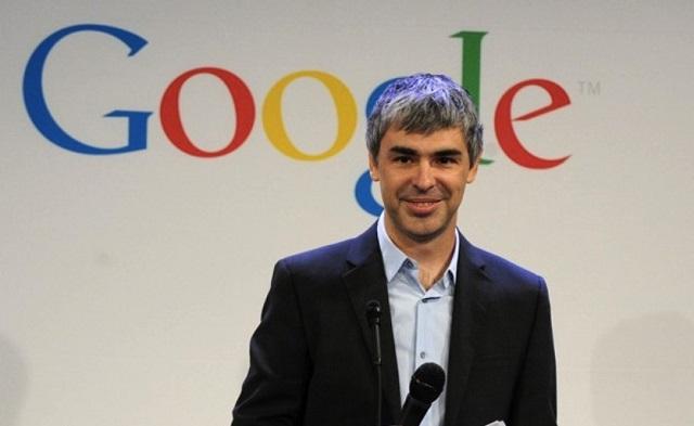 Larry Page na lista de bilionários