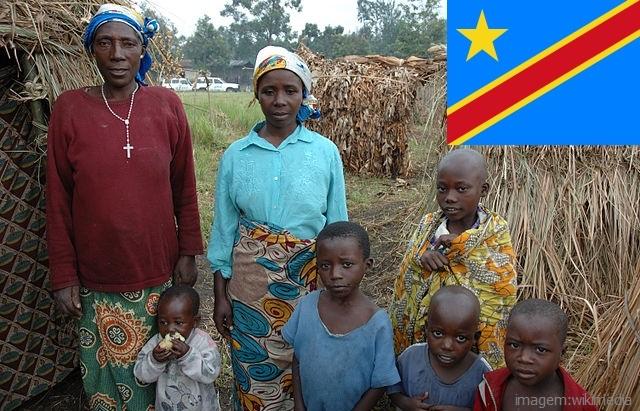 Top 10 países mais pobres do mundo - República Democrática do Congo