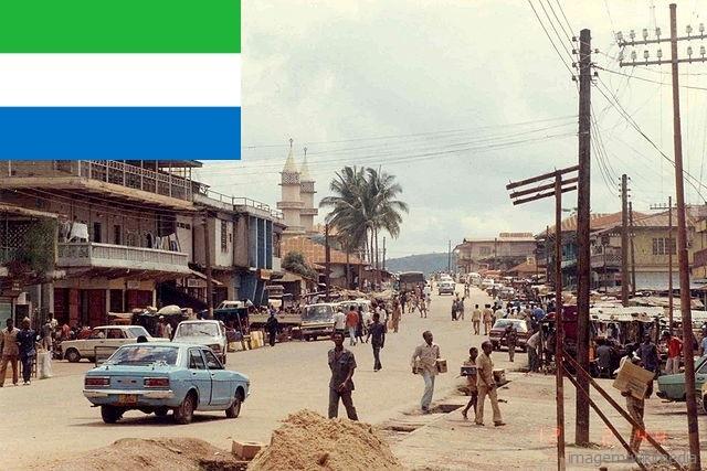 Top 10 países mais pobres do mundo - Serra Leoa