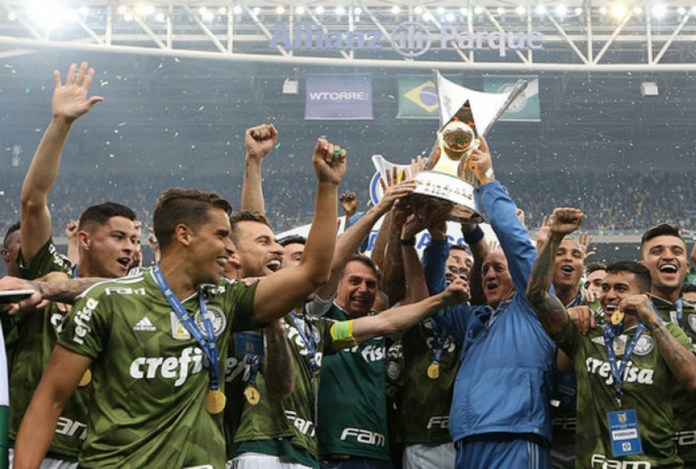Top 10 times com mais títulos nacionais do Brasil - Palmeiras