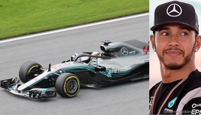 Top 10 maiores campeões da Fórmula 1 - Lewis Hamilton