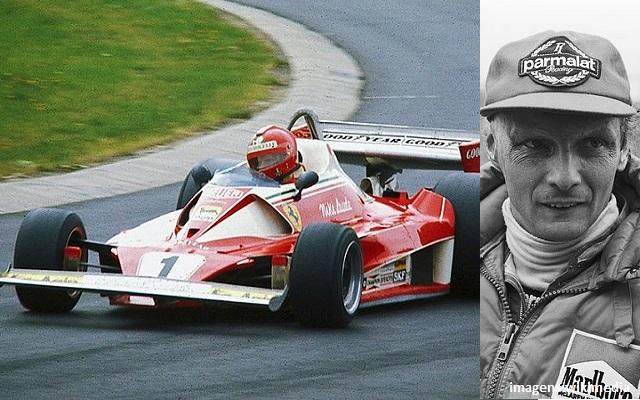 Top 10 maiores campeões da Fórmula 1 - Niki Lauda