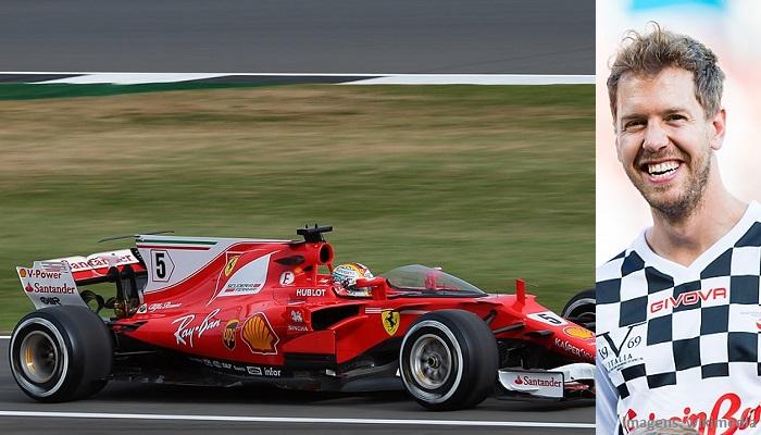 Top 10 maiores campeões da Fórmula 1 - Sebastian Vettel