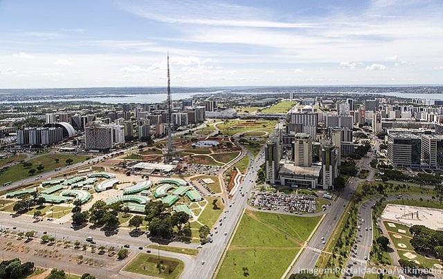 Top 10 maiores cidades do Brasil em 2019 - Brasília