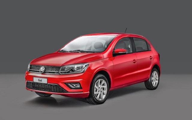 Top 10 carros mais vendidos no Brasil - VW Gol