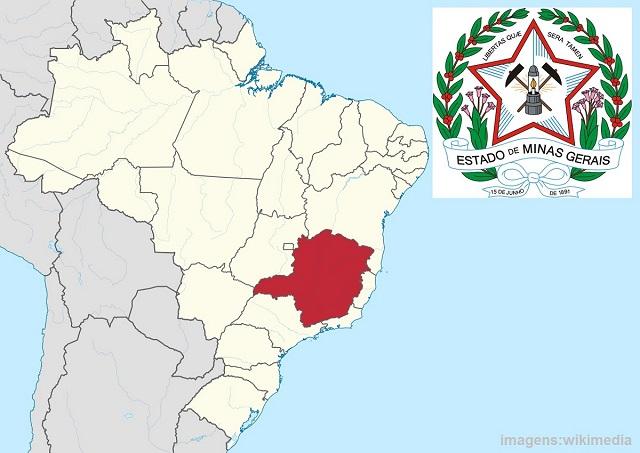 Top 10 maiores estados do Brasil - Minas Gerais