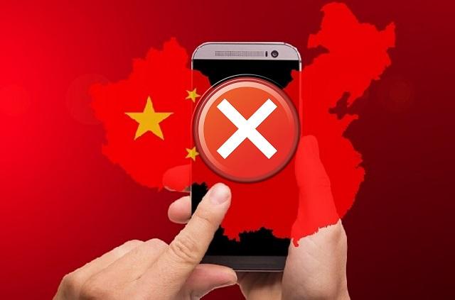 Diversos sites famosos são bloqueados na China