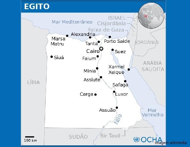O Egito pertence a dois continentes