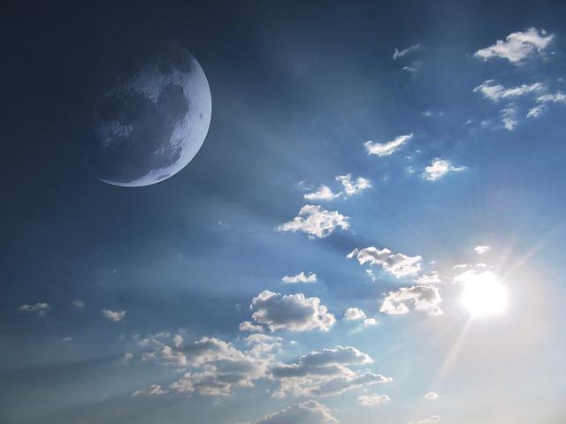 A temperatura da Lua muda radicalmente