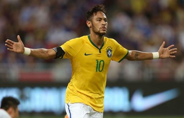 Maiores artilheiros da seleção brasileira - Neymar