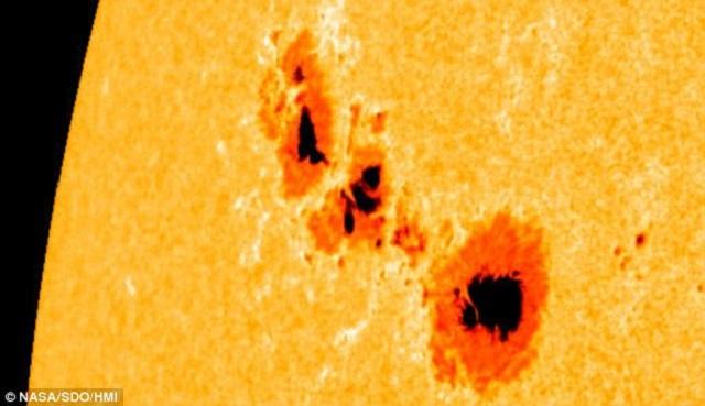 As manchas solares nos informam sobre o nosso clima