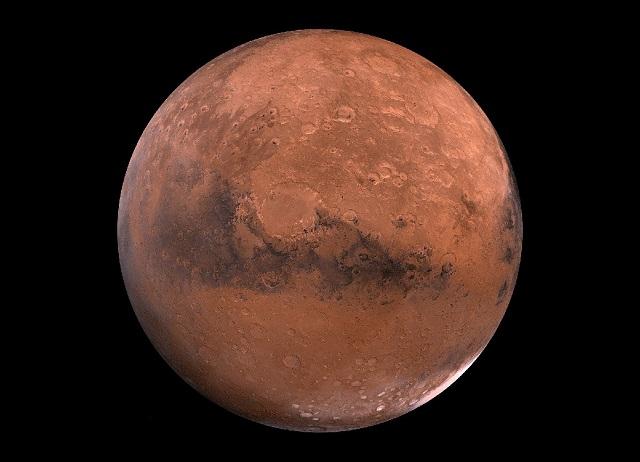 O motivo de Marte ser vermelho
