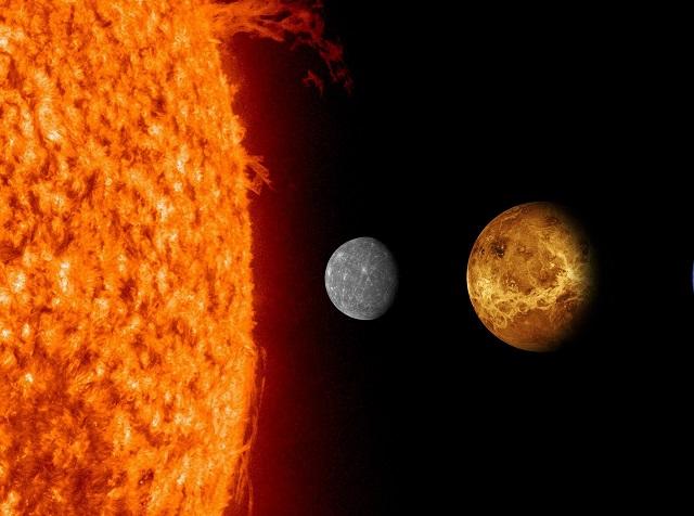 O mais próximo do Sol não é o mais quente