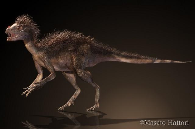 Um dinossauro estranho