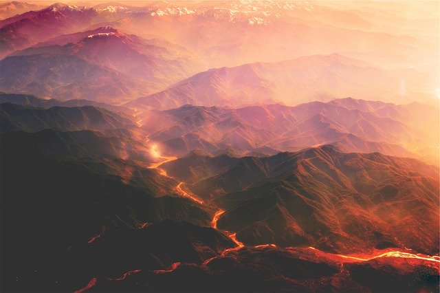 Atividades constantes nos vulcões
