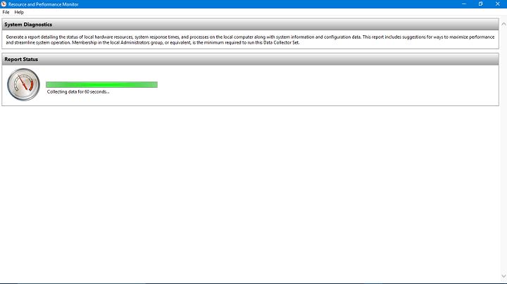 Исправлено: монитор ресурсов не работает в Windows.