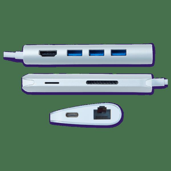 Как добавить порт USB-C к ноутбуку и поддерживать порядок на столе