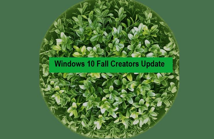 Как заблокировать установку Windows 10 Fall Creators Update