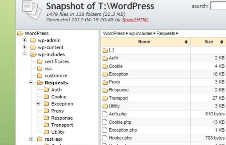 Как сохранить снимки папок Windows в виде файлов HTML
