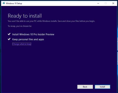 Как установить Windows 10 Creators Update из файла ISO