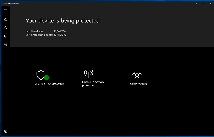 Проблемы с Защитником Windows после установки Windows 10 Creators Update[Fix]
