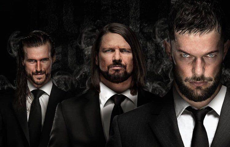 Finn Bálor, Adam Cole y AJ Styles