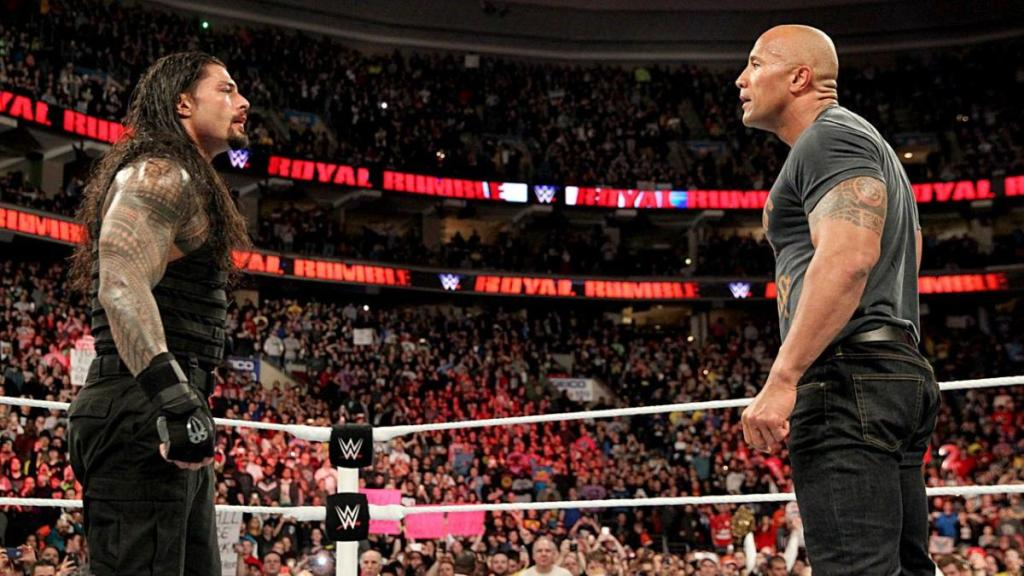 The Rock y Roman Reigns