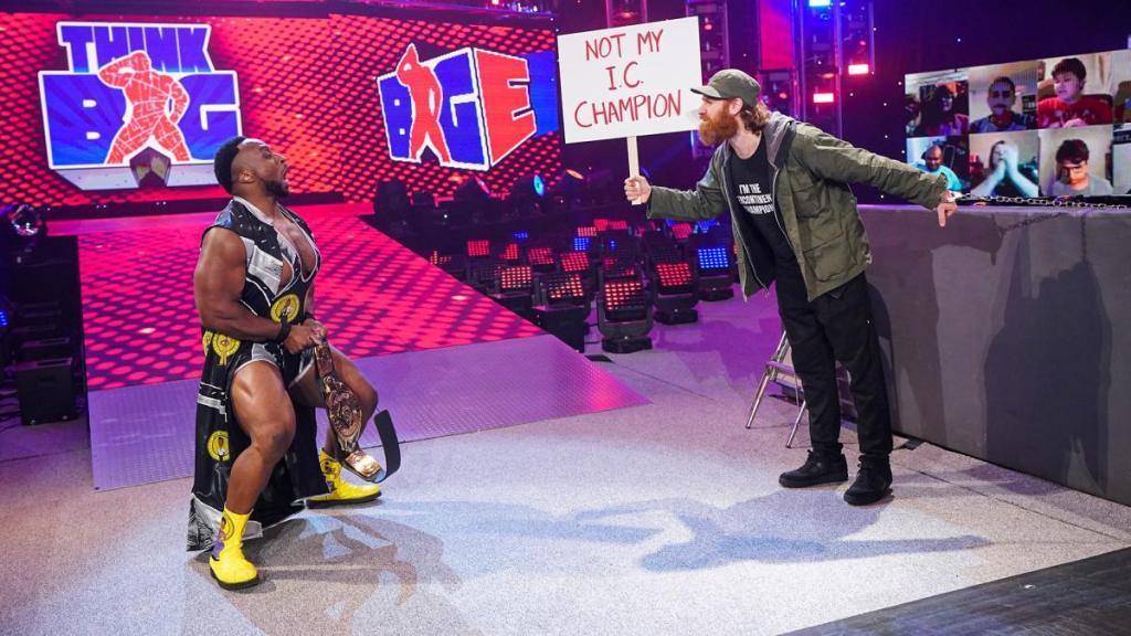 Big E y Sami Zayn en SmackDown