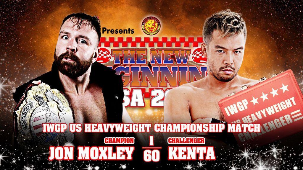 Moxley y Kenta cartel NJPW