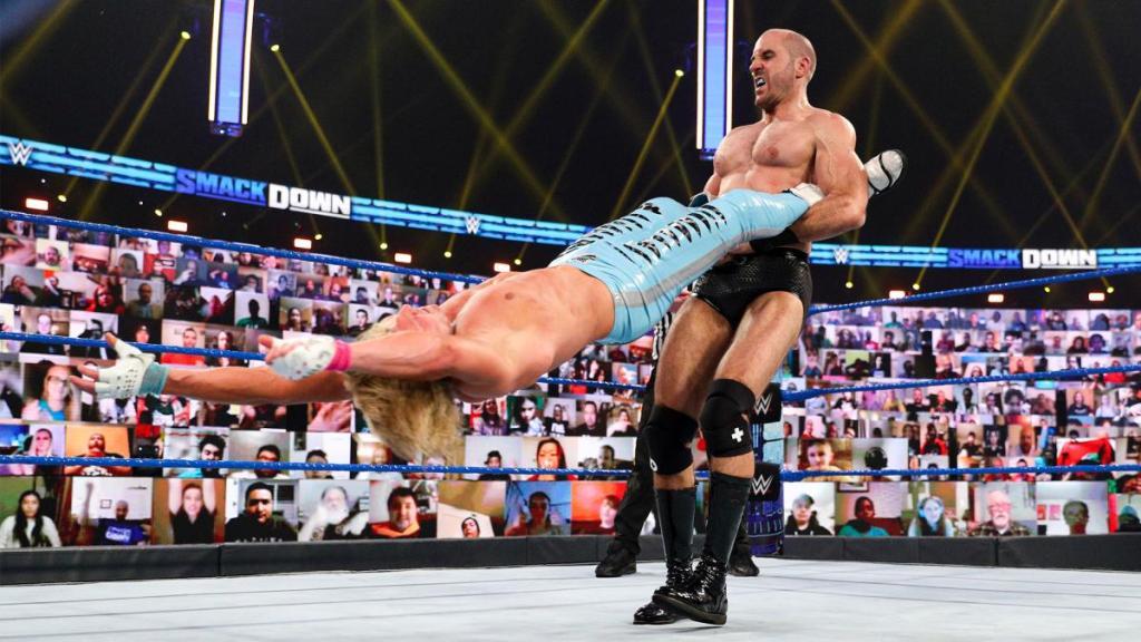 Cesaro en el último SmackDown