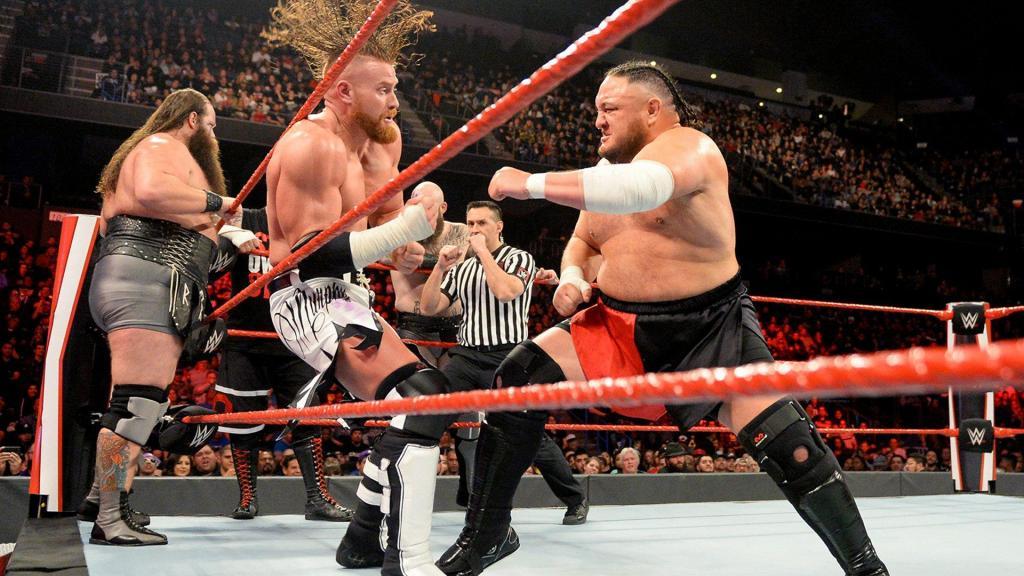 Samoa Joe en su último combate