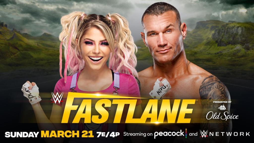 Alexa Bliss y Orton fastlane