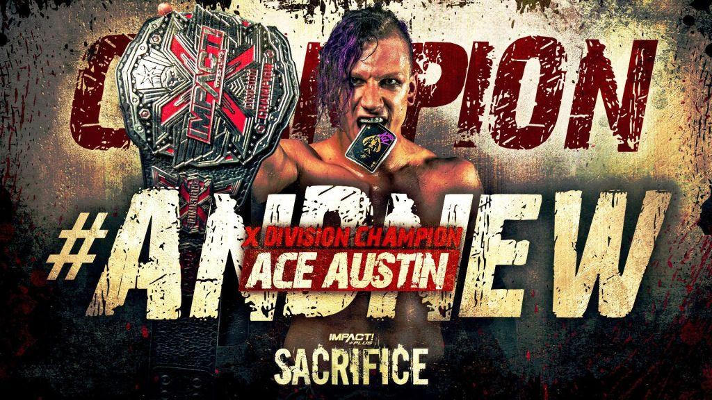 Ace Austin como campeón X
