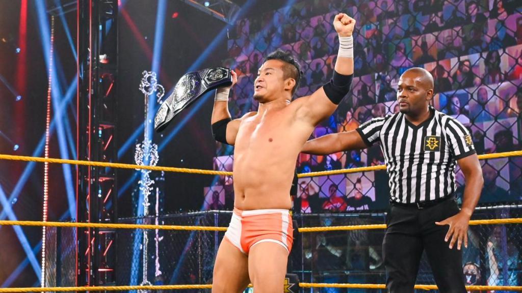 Kushida como campeón