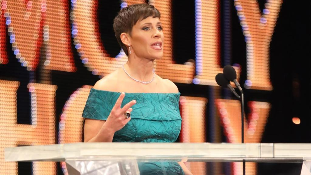 Molly Holly en el Hall of Fame