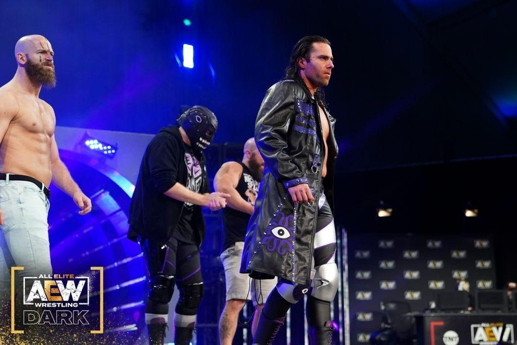Alex Reynolds en AEW Dark