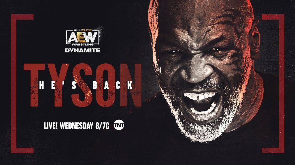 Tyson en aew