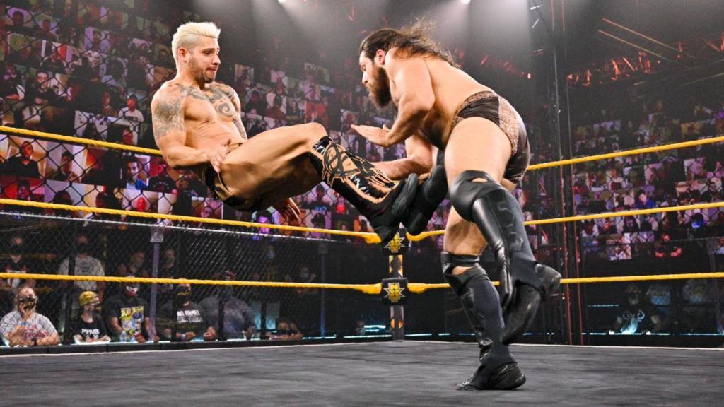 Asher Hale en NXT