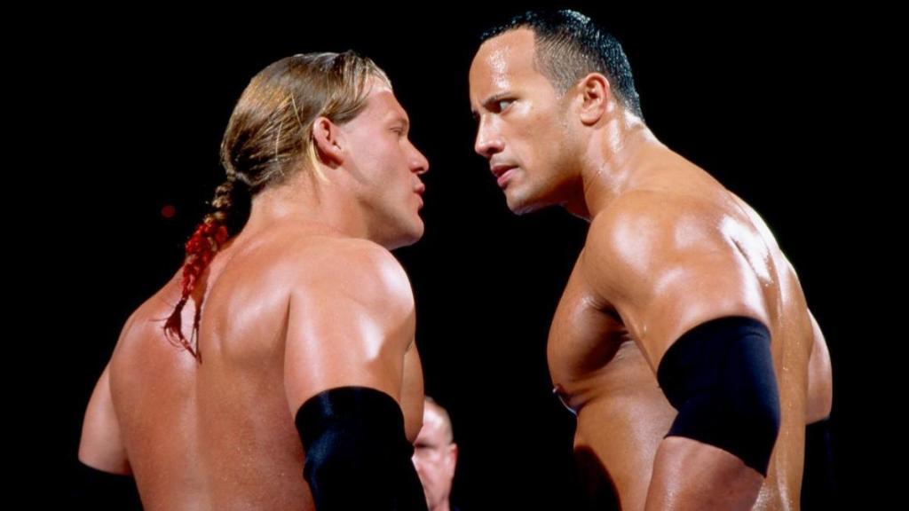 The Rock y Jericho