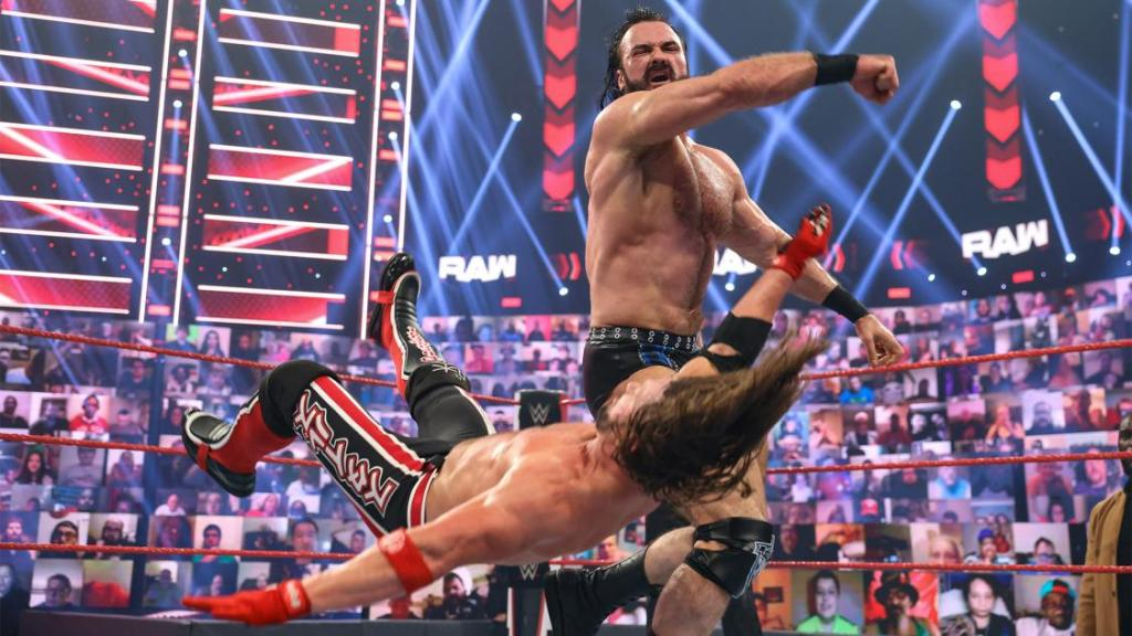 Drew McIntyre vs AJ Styles
