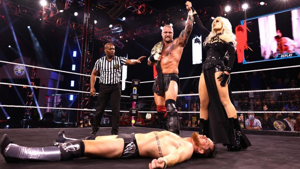 Karrion Kross como campeón